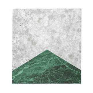 Concrete Arrow Green Granite #412 Notepad
