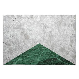 Concrete Arrow Green Granite #412 Placemat