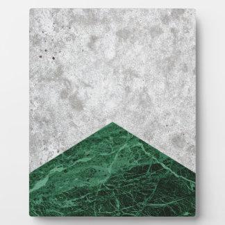 Concrete Arrow Green Granite #412 Plaque