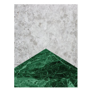 Concrete Arrow Green Granite #412 Postcard