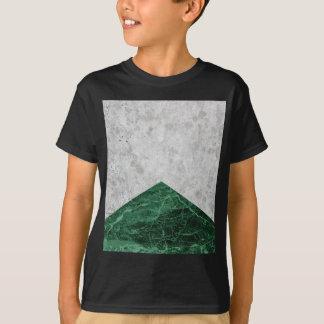 Concrete Arrow Green Granite #412 T-Shirt