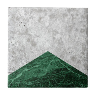 Concrete Arrow Green Granite #412 Tile