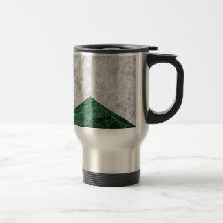 Concrete Arrow Green Granite #412 Travel Mug