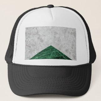 Concrete Arrow Green Granite #412 Trucker Hat