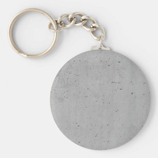 Concrete background key chain
