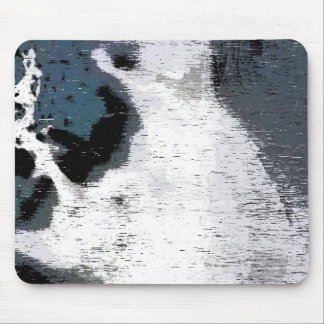 Concrete camouflage mouse pad