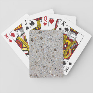 Concrete Cement Surface Photo Playing Cards