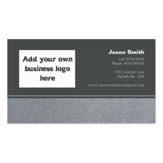 Concrete Constructions Commission Design Template Business Card Templates