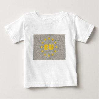 Concrete EU Flag Baby T-Shirt