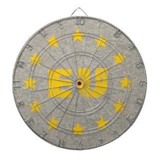 Concrete EU Flag Dartboard