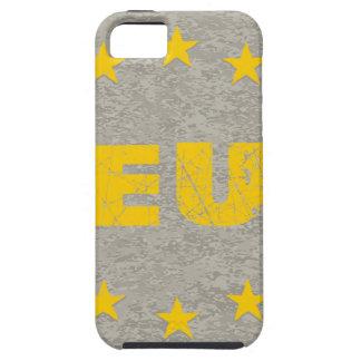Concrete EU Flag iPhone 5 Covers