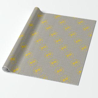 Concrete EU Flag Wrapping Paper