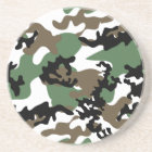 Concrete Jungle Camo Sandstone Coaster