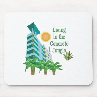 Concrete Jungle Mouse Pad