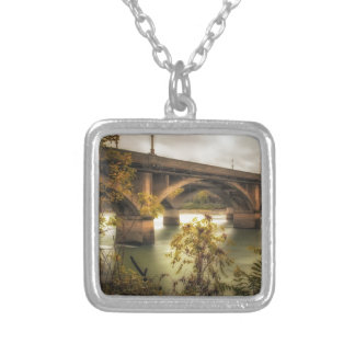 Concrete Jungle Silver Plated Necklace