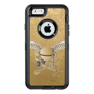Concrete mixer beige OtterBox iPhone 6/6s case