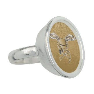 Concrete mixer beige photo rings