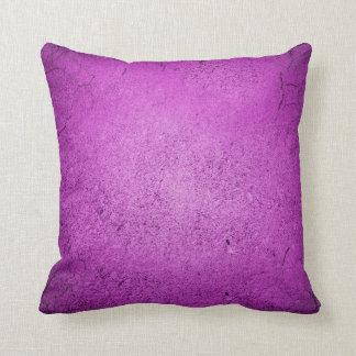 Concrete Purple Throw Pillow
