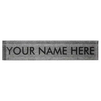 CONCRETE SLAB v.2 (architectural texture) ~ Name Plate