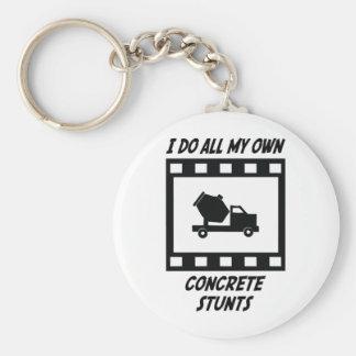 Concrete Stunts Key Chain