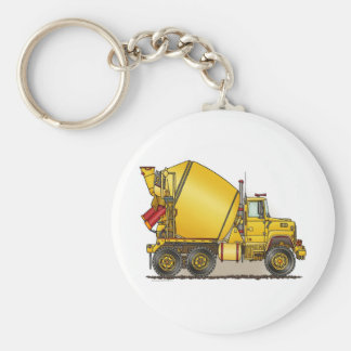 Concrete Truck Key Chain