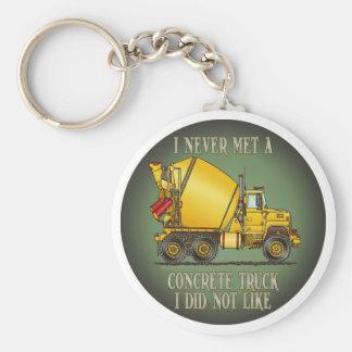 Concrete Truck Operator Quote Key Chain