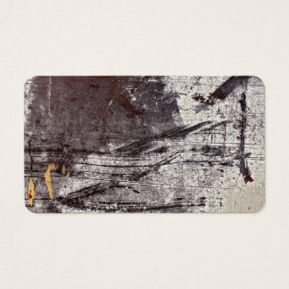 concrete wall business card