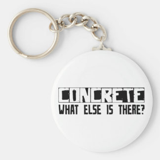 Concrete What Else Is There? Keychain