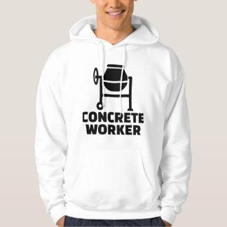 Concrete worker hoodie