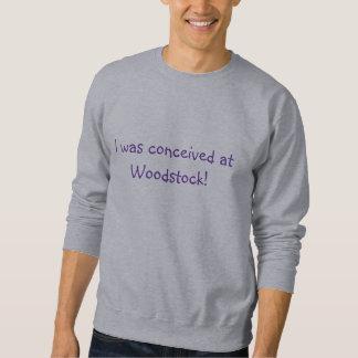Conçu au sweatshirt/au T-shirt de Woodstock