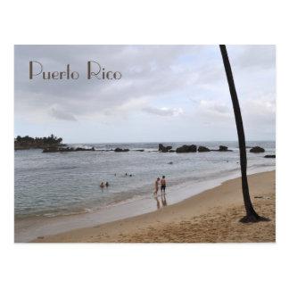 Condado Beach at Puerto Rico Postcard
