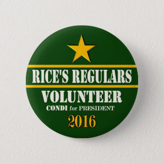 Condeleeza Rice President 2016 2 Inch Round Button