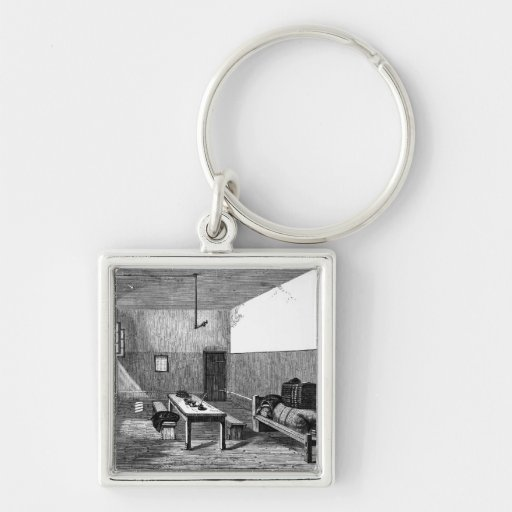 Condemned Cell Newgate Keychain