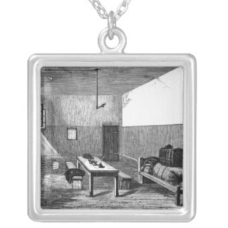 Condemned Cell Newgate Square Pendant Necklace