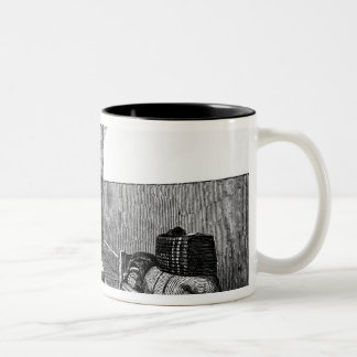 Condemned Cell Newgate Two-Tone Coffee Mug