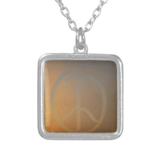 Condensation on the window silver plated necklace