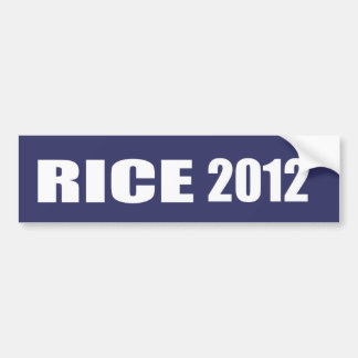 CONDI RICE Election Gear Bumper Sticker