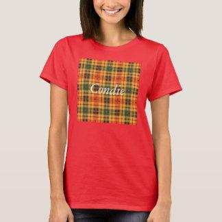 Condie clan Plaid Scottish kilt tartan T-Shirt