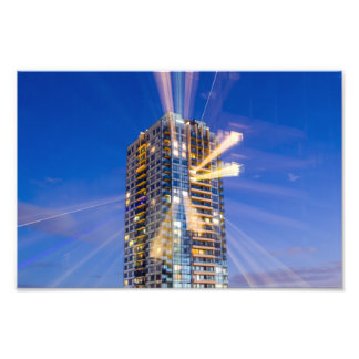 Condo Light Rays Photo Print