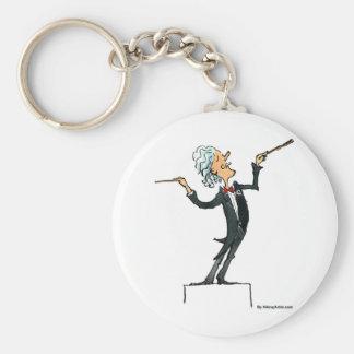 conductor keychain