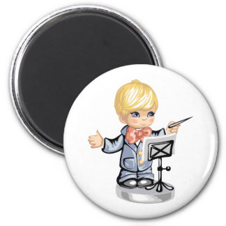 conductor kid blue eyed.png 2 inch round magnet