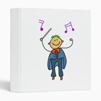 Conductor Kid Vinyl Binders