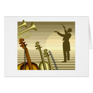 Conductor T-shirts and Gifts. Card