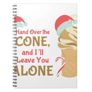 Cone Alone Notebooks