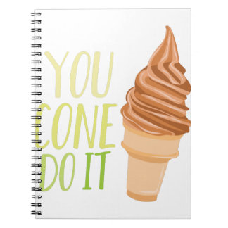 Cone Do It Notebook
