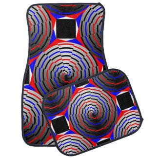 Cône en spirale tapis de voiture
