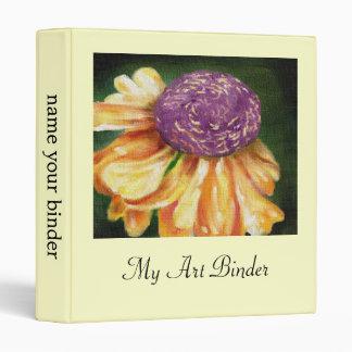 Cone Flower Floral binder
