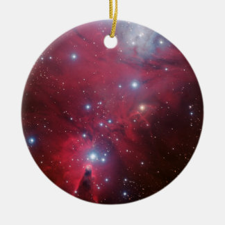 Cone Nebula Ceramic Ornament