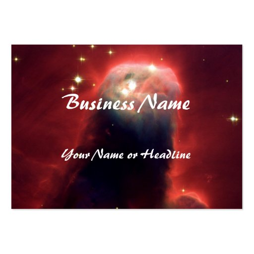 Cone Nebula Hubble Space Business Card Template