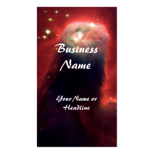 Cone Nebula Hubble Space Business Card Templates